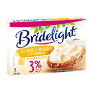 Bridelight Fondu portion goût Emmental 3%MG 200g