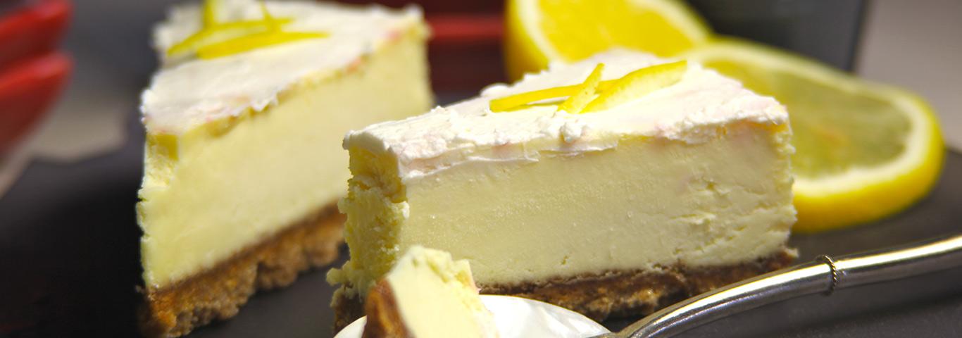 Cheesecake Au Citron Sans Cuisson Envie De Bien Manger