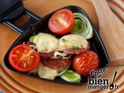 raclettes 10 recettes originales envie de bien manger. Black Bedroom Furniture Sets. Home Design Ideas