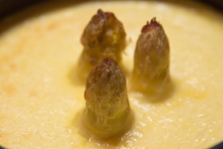 Clafoutis d'asperges blanches