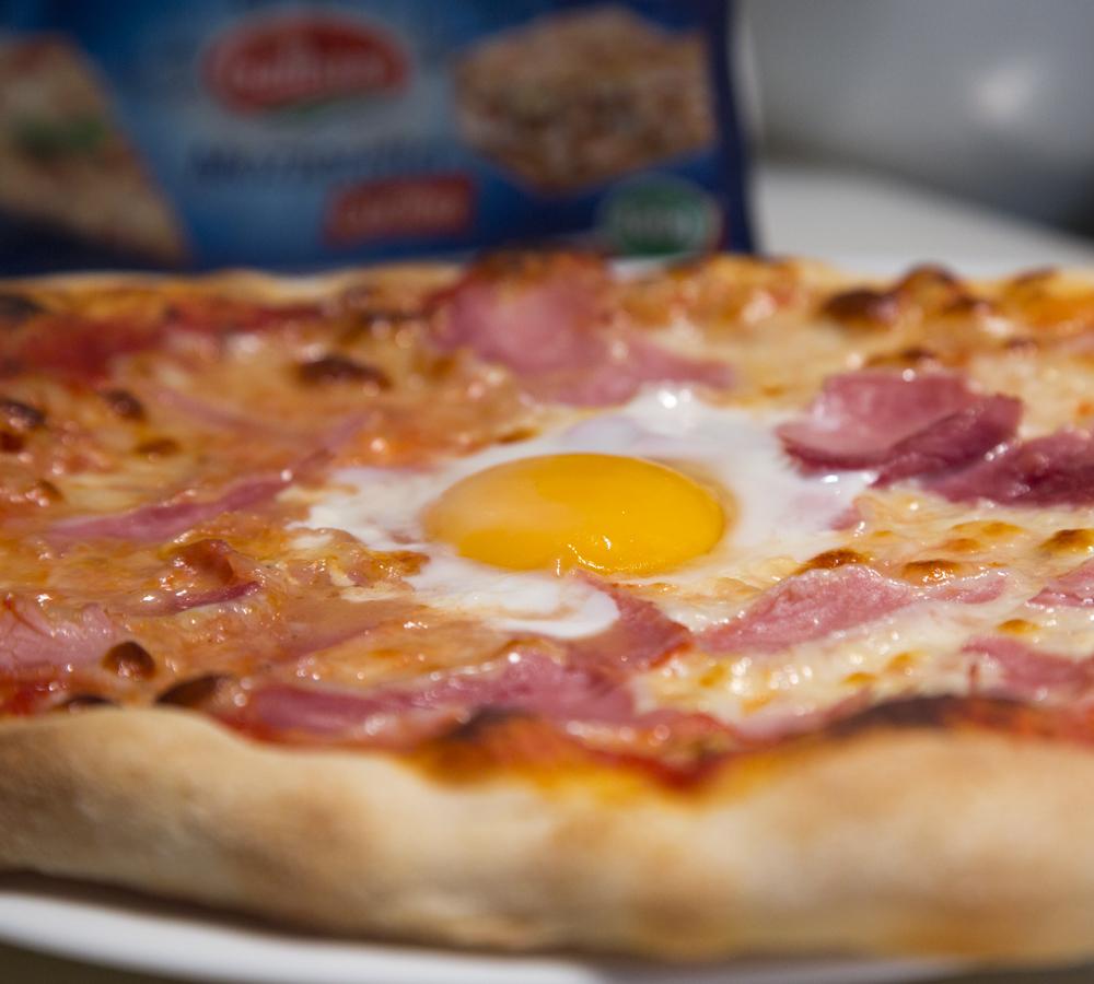 Pizza Jambon Oeuf Envie De Bien Manger