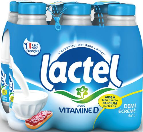 Lait Lactel Vitamine D