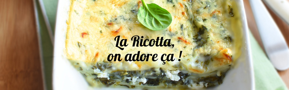 La Ricotta, on adore ça !