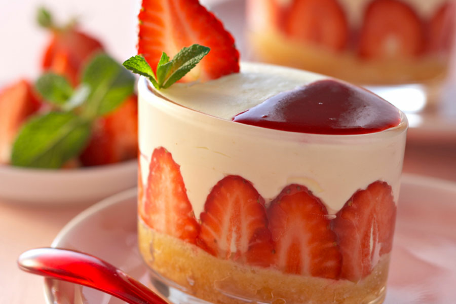 recette tiramisu fraise menthe