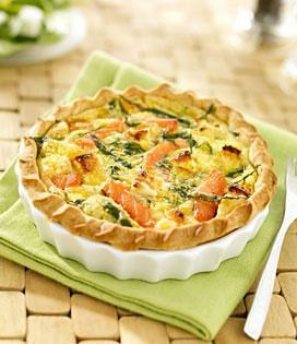 Quiche Saumon Epinards Et Chevre Envie De Bien Manger