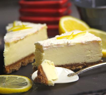 Cheesecake Au Citron, Sans Cuisson - Envie De Bien Manger