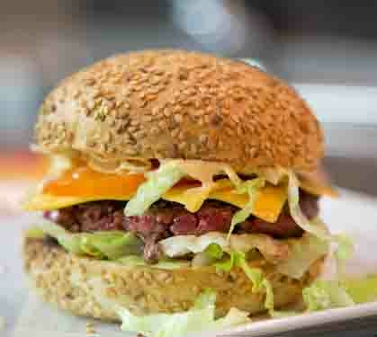 Burgers Fromage Et Tomate