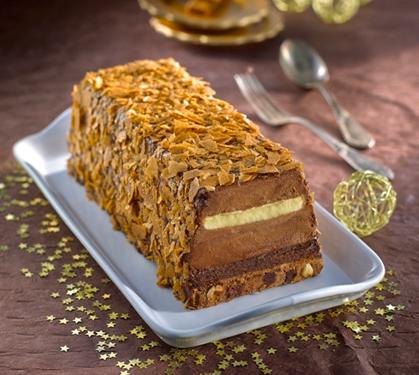 B che croustillante au chocolat envie de bien manger - Petit plat en equilibre buche de noel ...