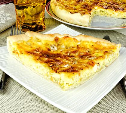 Tarte aux poireaux et chaource envie de bien manger - Tarte aux poireaux legere ...