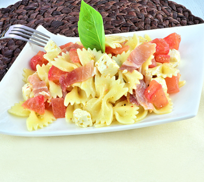 Salade de p tes au jambon et fromage salakis envie de bien manger - Salade de pates jambon ...