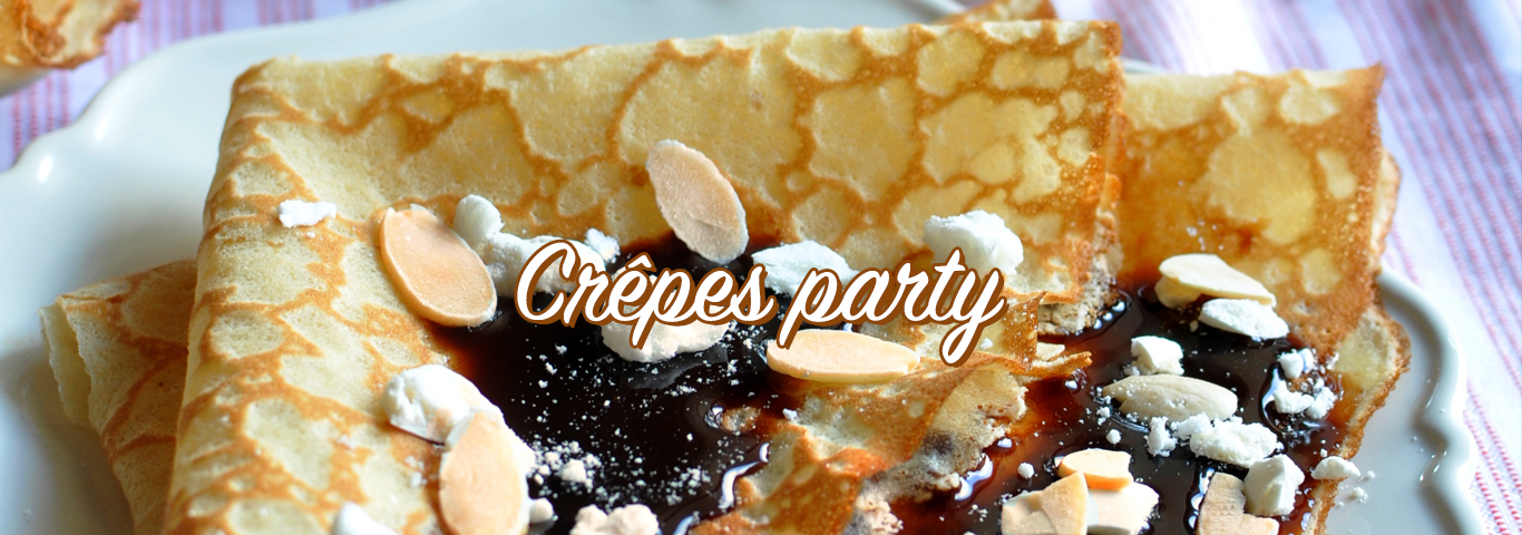 crêpe party