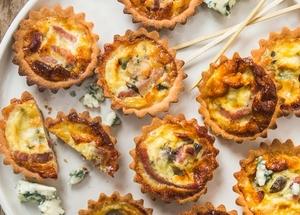 Quiche lorraine aux fromages