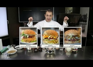 Préparez vos burgers et bagels maison !