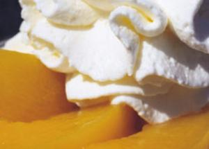 Desserts express à base de crème fouettée