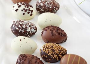 Recettes des oeufs en chocolat