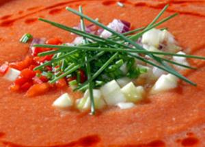Soupes froides et gaspachos