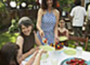…repas équilibré tout en faisant la fête