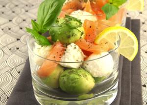 Les meilleures recettes de verrines pour l'apéritif