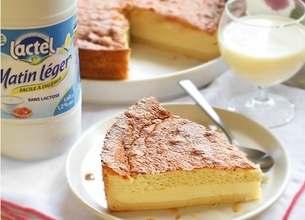 Gâteau magique à la vanille sans lactose
