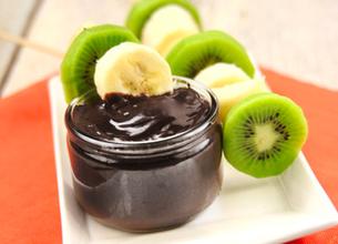 Fondue au chocolat et ses brochettes de fruits