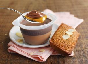 Velours de Crème et ses financiers au caramel