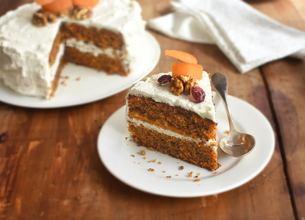Carrot Cake à la Chantilly Vanillée