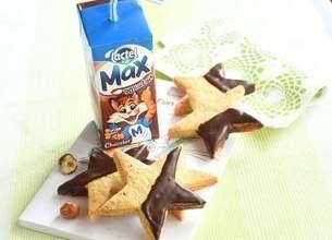 Lactel Max chocolat & ses biscuits étoilés