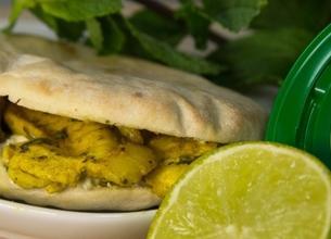 Poulet mariné au citron vert