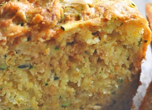 Cake courgettes et curry