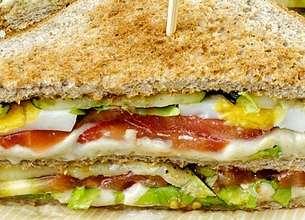 Club de Lord Sandwich mêlé de brique Maria Grimal