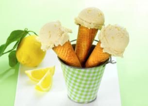 Glace au citron et au mascarpone