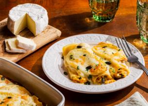 Cannelloni au butternut et au fromage de brebis Fromagerie Corsica