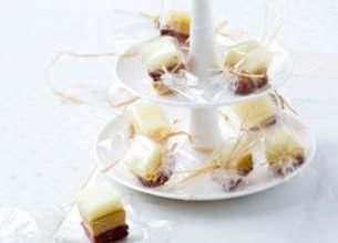 Bonbons d'Ossau Iraty Istara au magret fumé et parfum de foie gras