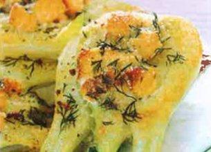 Bulbe de fenouil au saumon
