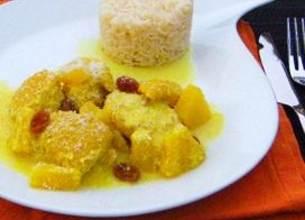 Colombo de Poulet à l'Ananas