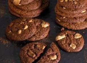 Cookies au chocolat noir et blanc
