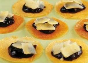 Craquants d'Ossau Iraty, marmelade de griottes
