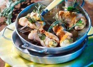 Escalopines de veau au gorgonzola