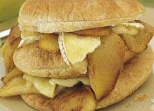 Feuilleté aux pommes et au camembert Lanquetot