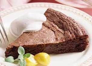 Gâteau au chocolat de grand-mère