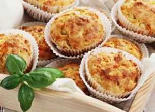 Muffins au jambon et 3 fromages