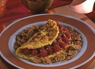 Omelette soufflée aux Framboises