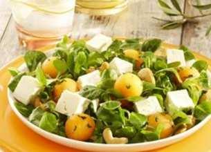 Salade du soleil melon Salakis