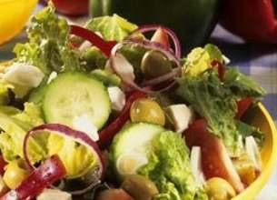 Salade légumes d'été et Salakis