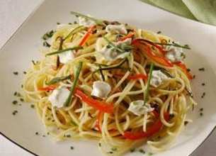 Spaghetti saveurs d'été