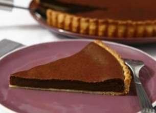 Tarte au chocolat La Laitière