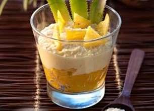 Tiramisu ananas et coco