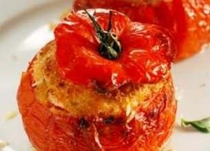 Tomates farcies au poulet