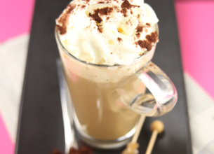 Matin Léger de Lactel au Café au lait façon Cappuccino