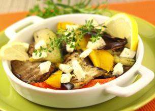 Carpaccio de légumes du soleil au Salakis